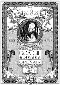 Goa Gil & Ariane Open Air 2014